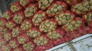 """غلق منفذ بسبب """"البطاطس"""" بالمنصورة.. والمحافظ: أسعارها ستكون أقل 20% عن السوق"""