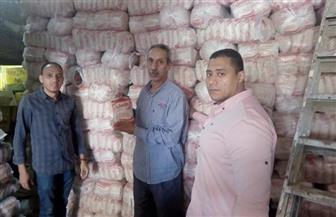 ضبط 49  طن أرز تمويني غير مطابق للمواصفات بالفيوم