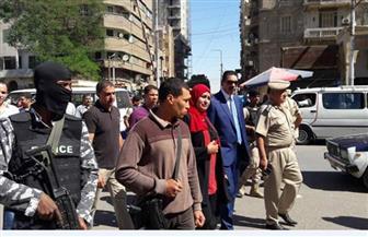 مدير أمن سوهاج يقود حملة مرافق بميادين وشوارع حي غرب | صور