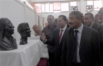 افتتاح معرض للفنون التراثية الإفريقية بجامعة جنوب الوادي | صور