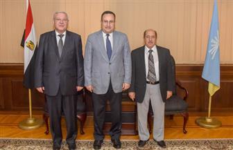 محافظ الإسكندرية يستقبل قنصل روسيا لبحث مجالات التعاون بين البلدين |صور