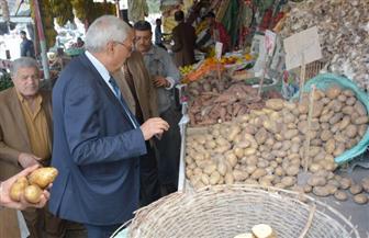 محافظ الدقهلية: وفرنا البطاطس بـ 6 جنيهات للمواطن |صور