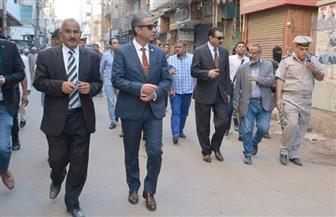 محافظ سوهاج ومدير الأمن يقودان حملة مرافق بجرجا | صور