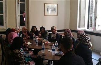بروتوكول تعاون بين الصالون الثقافي بأوبرا الإسكندرية وكلية رياض الأطفال | صور