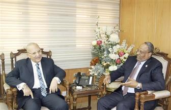 """وزير العدل يستقبل السفير الإماراتي ورئيس """"القضاء الأعلى"""" الفلسطيني"""