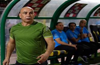 حسام حسن يسب الشرطة ويحاول الاعتداء على قوة تأمين مباراة الأهلي وسموحة | فيديو
