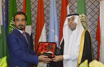 رئيسا البرلمان العربي والعراقي يتفقان على ضرورة توحيد الجهود لإعادة إعمار العراق