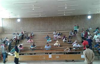 إجراء امتحانات القبول لـ281 طالبا وطالبة بمعهد البحوث الإفريقية بجامعة أسوان| صور