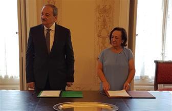 النائب العام يوقع مذكرة تفاهم للتعاون القضائي مع نظيرته البرتغالية| صور