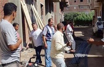 حملة موسعة لإزالة الإشغالات في أبو النمرس | صور