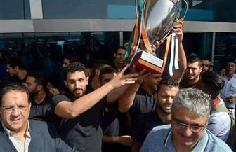 بعثة الزمالك لكرة اليد تصل القاهرة عقب التتويج ببطولة إفريقيا | صور