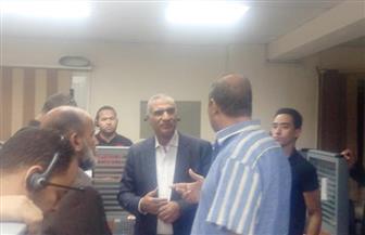 رئيس شركة الجيزة لمياه الشرب يوجه بضرورة التواصل مع شكاوى المواطنين