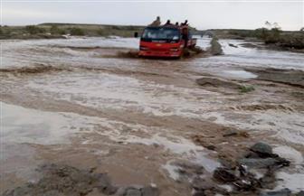 أمطار غزيرة على مرسى علم ومدن جنوب البحر الأحمر