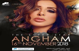 أنغام تحيي حفلا غنائيا 16 نوفمبر المقبل
