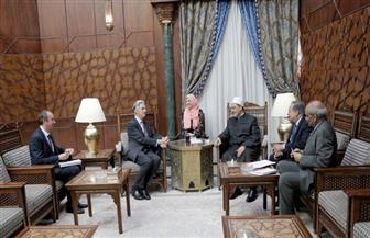 سفير بريطانيا بالقاهرة خلال لقائه الإمام الأكبر: لا توجد مؤسسة إسلامية في العالم تحتل نفس مكانة الأزهر