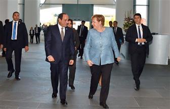 بسام راضي: الرئيس السيسي يعقد جلسة مباحثات ثنائية مع المستشارة الألمانية أنجيلا ميركل