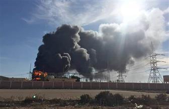 الكهرباء: لا خسائر في الأراوح بحريق محطة محولات مرسى مطروح