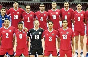 """""""طائرة مصر"""" تواصل الانتصارات في البطولة العربية بالفوز على العراق"""