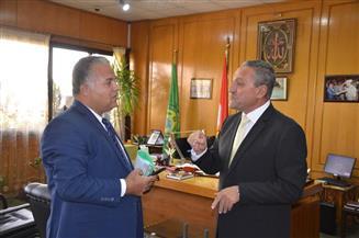 محافظ الإسماعيلية يستقبل وكيل وزارة التربية والتعليم الجديد