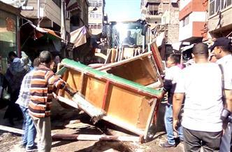 تنفيذ 16 قرار إزالة ورفع إشغالات في حملة ببورسعيد | صور