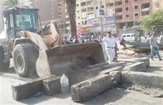 محافظة القاهرة تطهر ميدان الألف مسكن بالنزهة من البائعين والمواقف العشوائية | صور