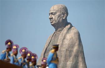 الهند ترفع الستار عن أطول تمثال في العالم في ذكرى بطل الاستقلال