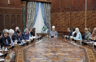 الإمام الأكبر لوفد البرلمان الأوروبي: أولوية تحقيق السلام تراجعت أمام المصالح الاقتصادية