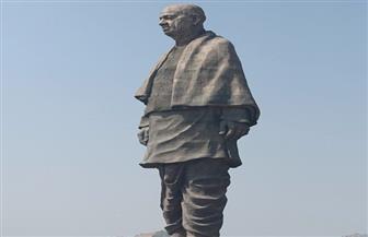 الهند ترفع الستار عن أطول تمثال في العالم في ذكرى بطل الاستقلال فالابهاي باتيل