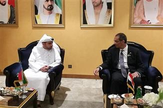 وزير الاتصالات يعقد عددا من اللقاءات لبحث التعاون مع كوريا والسودان والإمارات وسويسرا