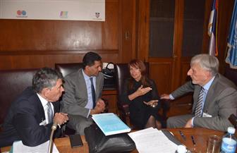 سفير مصر لدى صربيا يلقى كلمة في جلسة مؤتمر المركز الأوروبى للسلام والتنمية لتكريم الدكتور بطرس غالي | صور