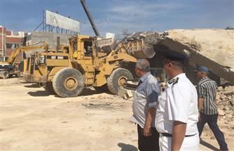 حملة إزالة مكبرة لتعديات ومخالفات البناء في المنيا | صور