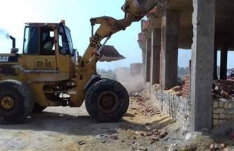 """حملة مكبرة لإزالة التعديات بمنطقة """"أرض اللاجون"""" بالسويس   صور"""