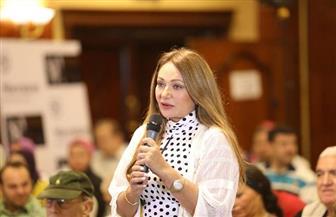 """ليلى علوي: فخورة بفيلم دمشق حلب في مهرجان الإسكندرية..  ودريد لحام: """"أنتِ جدعة"""""""