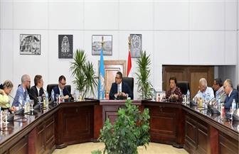 وزير الآثار يجتمع باللجنة العلمية المصرية - الأوروبية لبحث خطة تطوير متحف التحرير| صور
