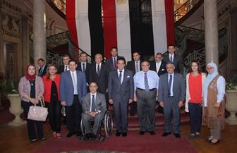 وزير التعليم العالي: الدولة اتخذت قرارات جريئة ومهمة لدعم متحدي الإعاقة | صور