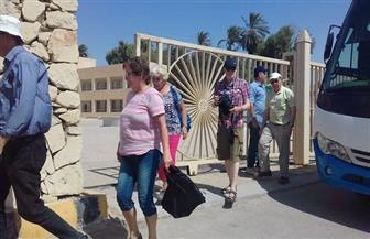 وفد سياحي من ألمانيا وأستراليا يزور المناطق الأثرية بالمنيا