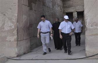 وفد قبطي رفيع المستوى يزور معبدي الأقصر والكرنك ومقابر البر الغربى   صور