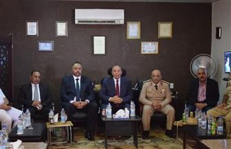 محافظ البحر الأحمر يزور القطاع العسكري بالغردقة للتهنئة بانتصارات أكتوبر | صور