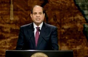 الرئيس السيسي: مصر عصية على الانكسار.. وحماية التراب الوطني واجب مقدس
