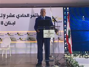نقيب الزراعيين يشارك بمؤتمر اتحاد النحالين العرب وفيدرالية نحالي حوض المتوسط ببيروت