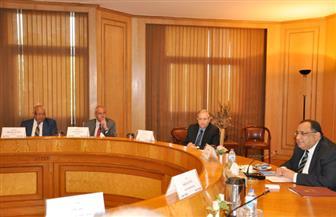 الاجتماع الأول بجامعة حلوان مع اتحاد الصناعات المصرية | صور