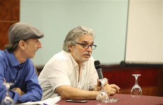 تفاصيل ندوة عباس النوري على هامش مهرجان الإسكندرية السينمائى | صور