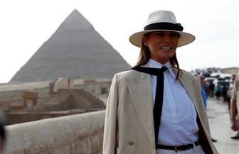 """وزيرى : سيدة أمريكا الأولى """"انبهرت"""" عند دخولها الهرم.. وكانت مهتمة بالتقاط  صور تذكارية"""