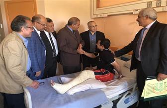 المحرصاوى: افتتاح المستشفى التخصصى لجامعة الأزهر خلال شهرين | صور