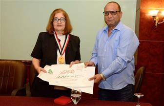 تكريم ماجدة موريس في ندوة مهرجان الإسكندرية | صور
