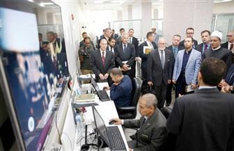 وفد كلية الدفاع الأمريكية: مرصد الأزهر يقوم بدور بارز في مواجهة الأفكار المتطرفة |صور