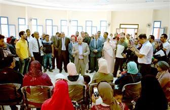 محافظ بورسعيد يشهد بدء الدراسة في المدرسة المصرية اليابانية
