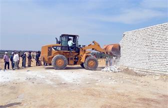 حملة لإزالة التعديات على أملاك الدولة في قرى القليوبية