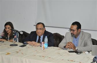 رئيس جامعة حلوان يشيد بإنجازات وحدة التصنيف الدولي | صور
