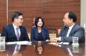 معيط يبحث ملفات الاقتصاد والاستثمار مع نائب رئيس وزراء كوريا الجنوبية